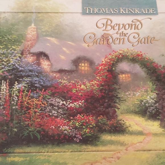 Thomas Kincade h/c beyond the garden Gate book